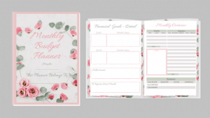 Monthly Budget Planner CTA